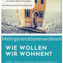 openWiNGS Info Nachmittag Mehrgenerationenwohnen in Grafing, Wohnen in Grafing